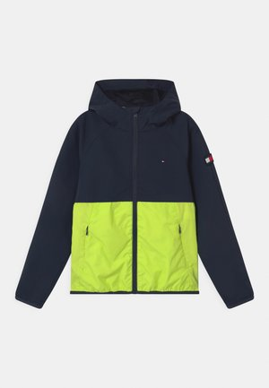 COLORBLOCK  - Training jacket - twilight navy/ faded lime