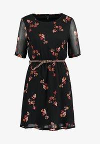 Vero Moda - VMCARINA BELT SHORT DRESS - Day dress - black - 4