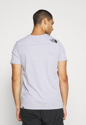 LIGHT TEE - Print T-shirt - light grey heather