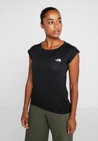 The North Face - TANKEN TANK  - Basic T-shirt - black - 0