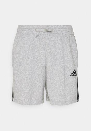 Sports shorts - medium grey heather/black