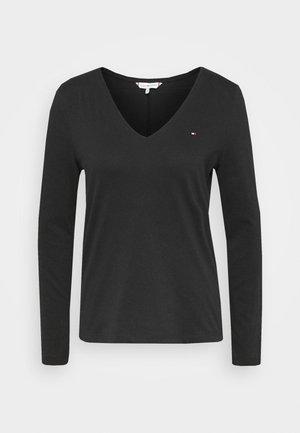CLASSIC - Bluzka z długim rękawem - black