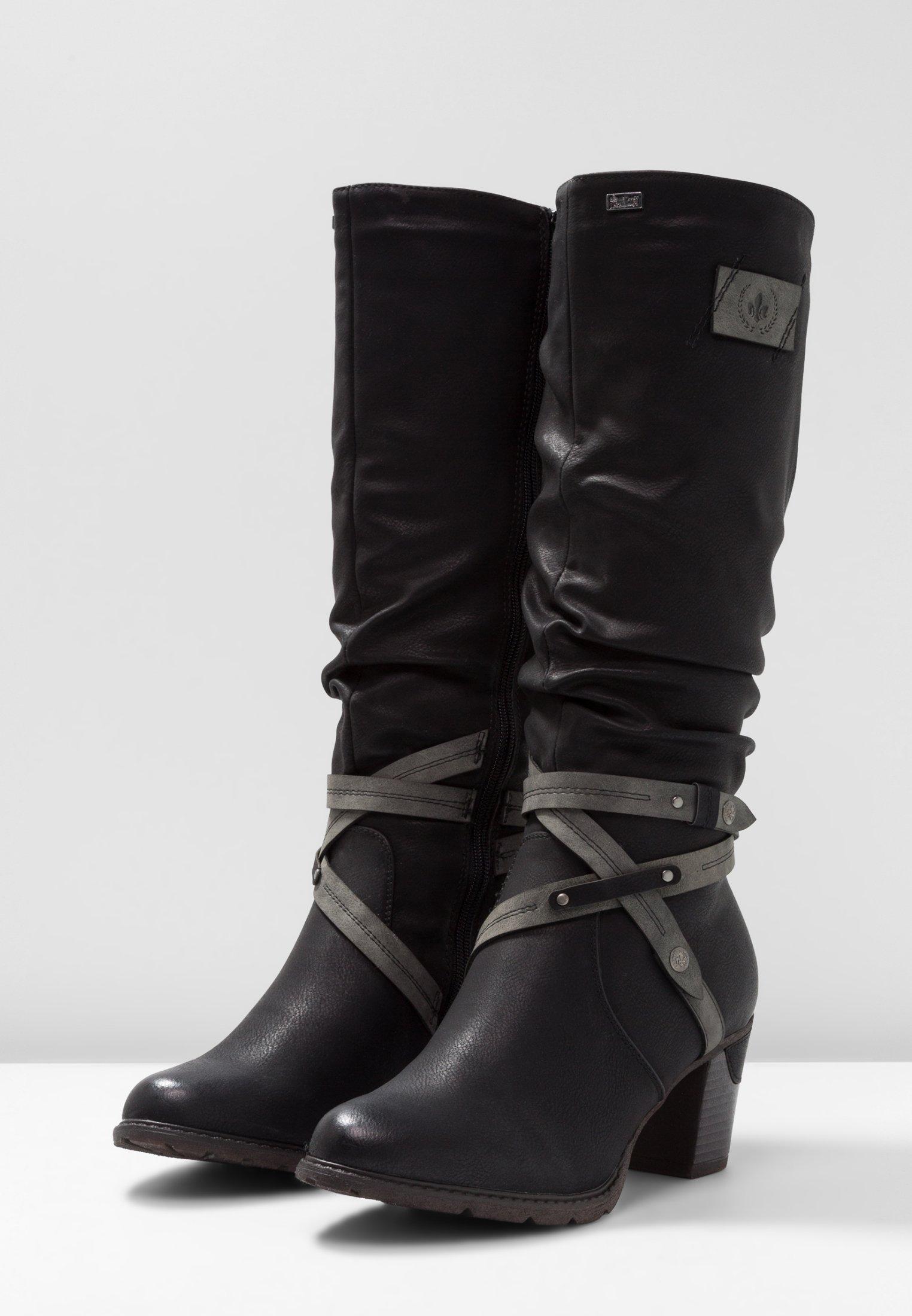Shopping Official Site Women's Shoes Rieker Winter boots schwarz ecbeHfRnw x893VdDZ8