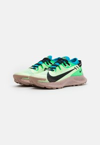 Nike Performance - PEGASUS TRAIL 2 - Obuwie do biegania Szlak - barely volt/black/laser blue - 1