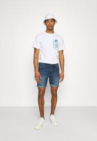 Lee - RIDER - Denim shorts - maui dark - 1
