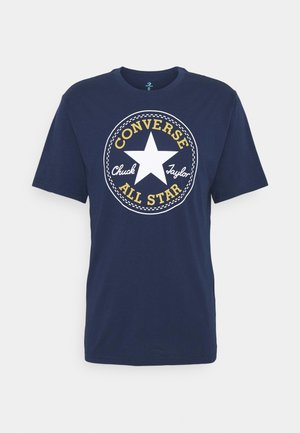 CHUCK TAYLOR ALL STAR PATCH GRAPHIC TEE - T-shirt med print - midnight navy