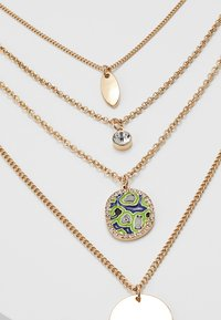 LIARS & LOVERS - MULTI LAYER DISC 4 PACK - Necklace - gold-coloured - 4