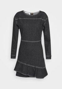 See by Chloé - Denimové šaty - black - 5