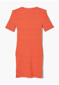 s.Oliver - JURK - Jumper dress - orange stripes - 1