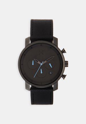 Chronograph watch - gunmetal/black