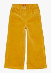 s.Oliver - CULOTTE - Kalhoty - dark yellow - 0