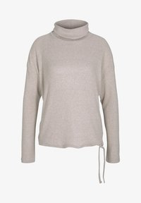 TOM TAILOR DENIM - Jumper - cozy beige melange - 5