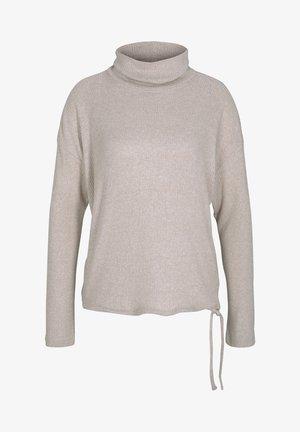 Jumper - cozy beige melange