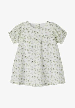 Jersey dress - bright white