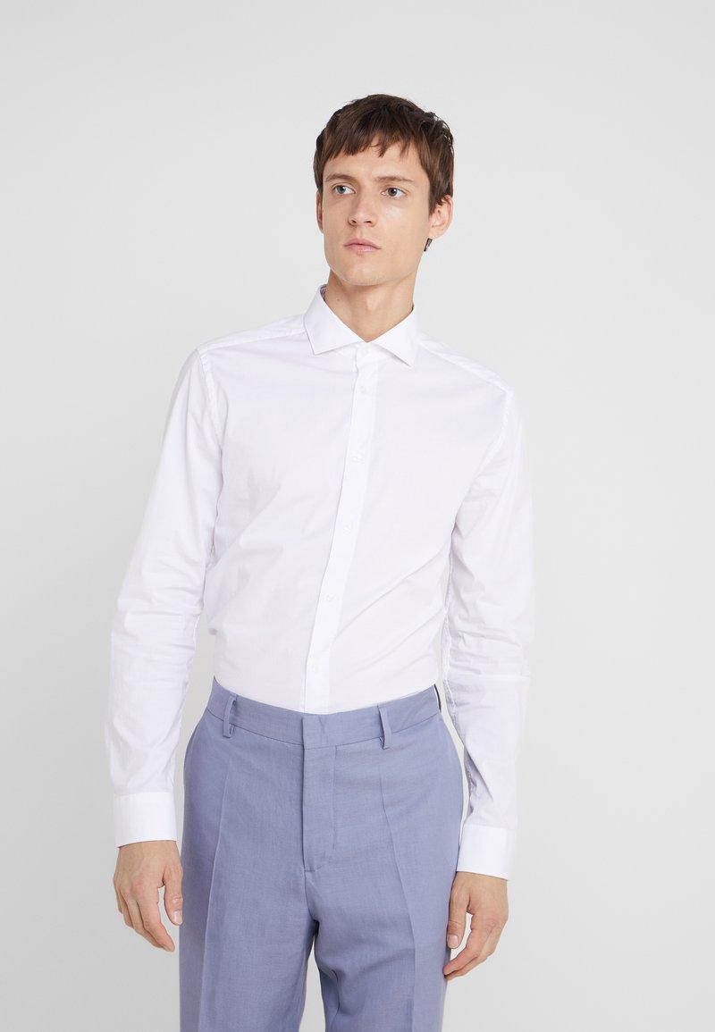 CC COLLECTION CORNELIANI - LONG SLEEVED SHIRT - Zakelijk overhemd - white