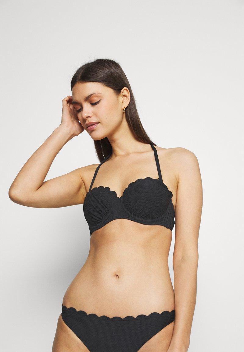 Esprit - BARRITT BEACH - Bikini top - black
