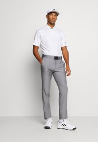 adidas Golf - ULTIMATE SPORTS GOLF SHORT SLEEVE - Funktionströja - white/grey three/grey two - 1