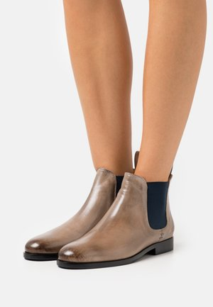 SUSAN - Ankle boots - crust/navy