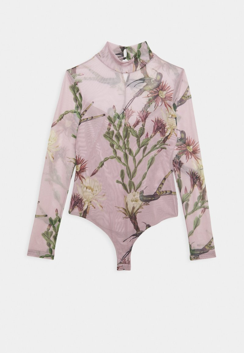 AllSaints - NOLINA ELIA BODYSUIT - Long sleeved top - plaster pink