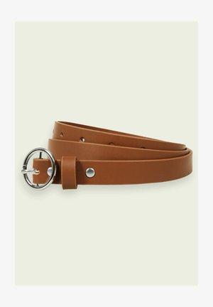 Belt business - chestnut