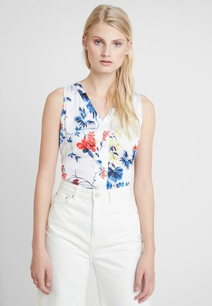 HIGH LOW PIECED  - Blouse - paradiso