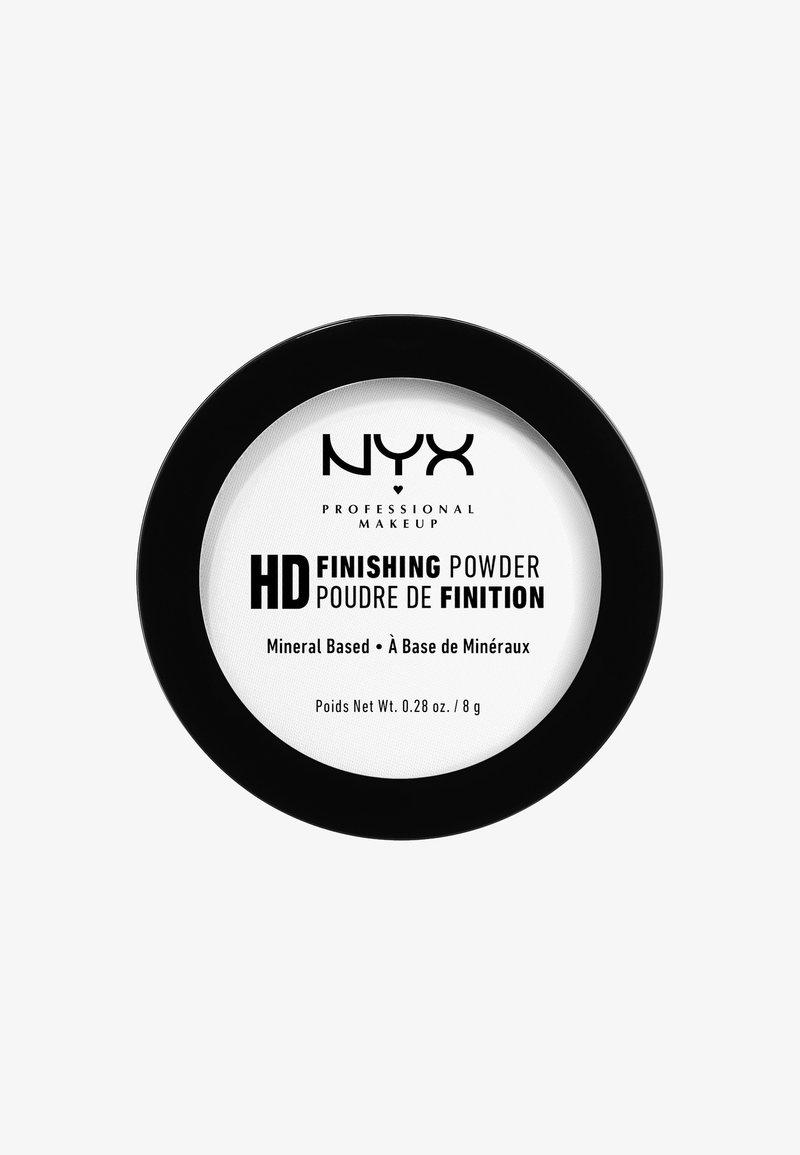 Nyx Professional Makeup - HIGH DEFINITION FINISHING POWDER - Utrwalanie makijażu - 1 translucent