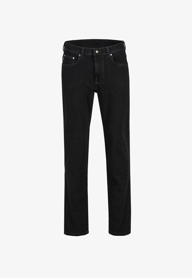 MIT STRETCH-FUNKTION - Straight leg jeans - black
