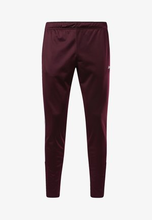 TRAINER ESSENTIALS TRACK JOGGERS - Jogginghose - burgundy