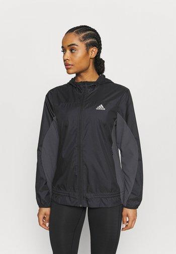 Training jacket - black/grey six