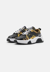 Versace Jeans Couture - Sneakersy niskie - black - 2