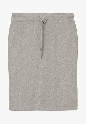 Pencil skirt - medium grey melange