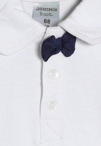 Jacky Baby - LANGARM SCHLEIFE BASIC BABY - Long sleeved top - white/navy - 4
