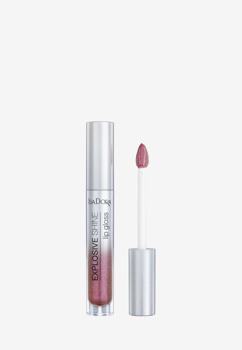 IsaDora - EXPLOSIVE SHINE LIP GLOSS - Lip gloss - purple shine