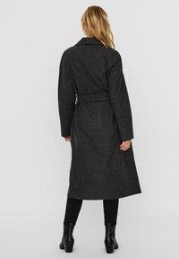 Vero Moda - Classic coat - dark grey melange - 1