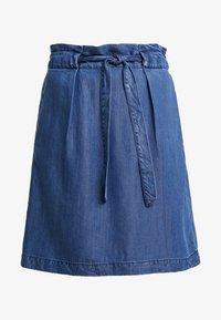 s.Oliver - A-line skirt - blue denim - 3