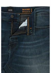 BOSS - MAINE - Slim fit jeans - dark blue - 5