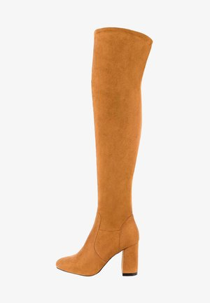CAINO - High heeled boots - brown