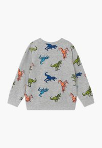 Blue Seven - SMALL BOYS T-REX DINOSAUR - Sweatshirt - nebel - 1