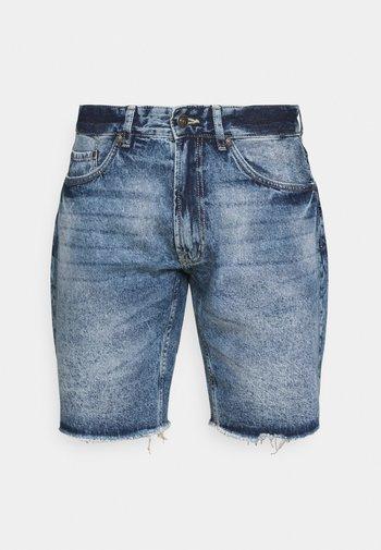 RROSAKA - Shorts di jeans - vintage denim