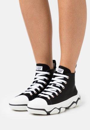 High-top trainers - nero/bianco
