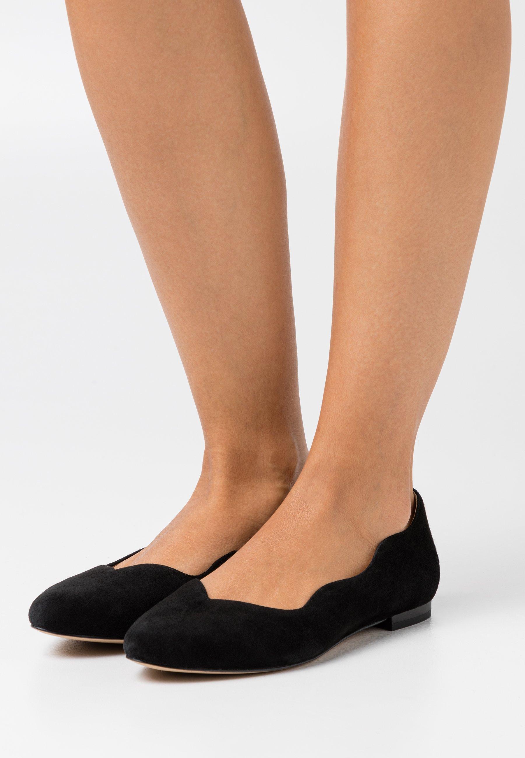 Women SLIP ON - Ballet pumps - black