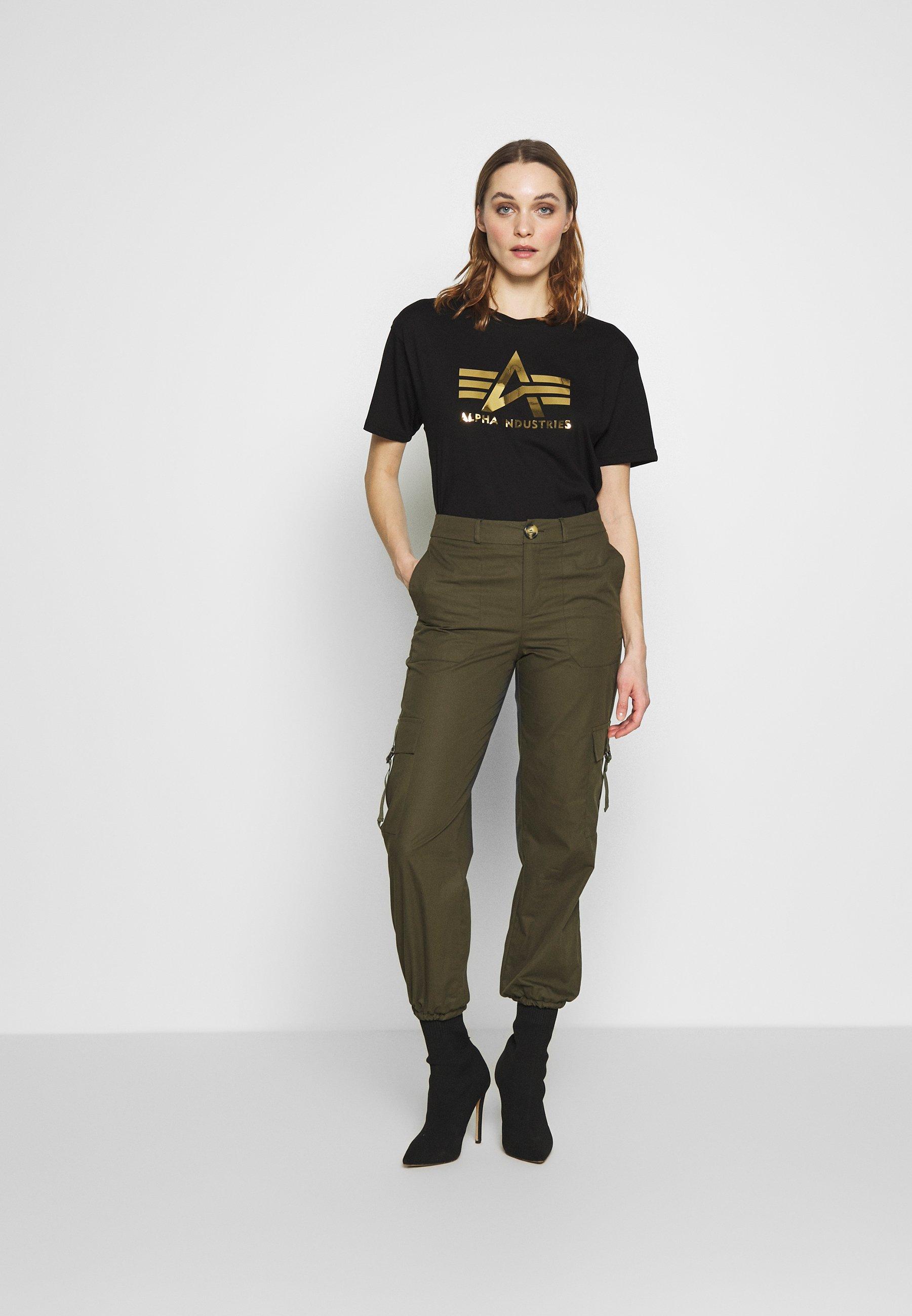 T Shirt print black
