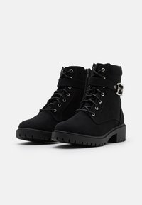 Dorothy Perkins - MONA LACE UP BOOT - Lace-up ankle boots - black - 2