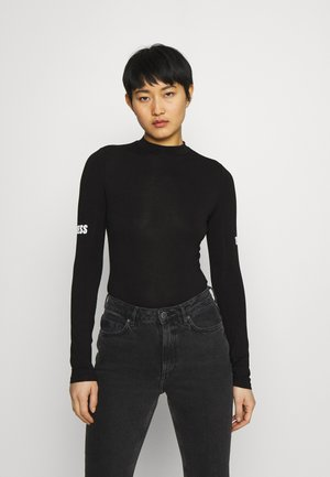 EVA - Long sleeved top - jet black