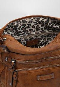 Tamaris - ULLA CROSSBODY BAG - Across body bag - brown - 7