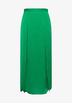 Maxi skirt - palm green