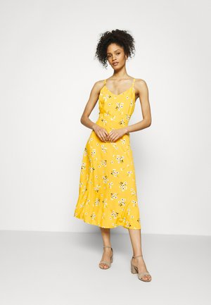 CAMI MIDI - Kjole - yellow