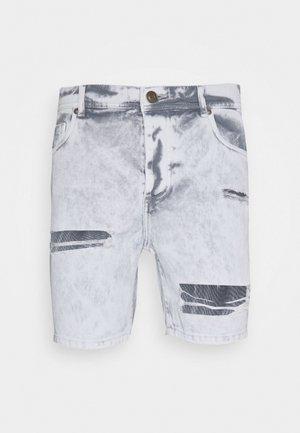 CANNESGREY - Jeansshorts - grey