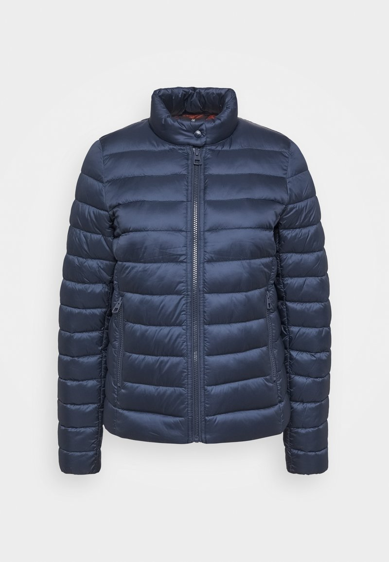 Marc O'Polo - JACKET REGULAR LENGTH WITH STAND UP COLLAR  - Winter jacket - dark night