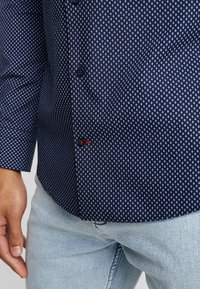 Tommy Hilfiger Tailored - PRINT CLASSIC SLIM - Shirt - blue - 4